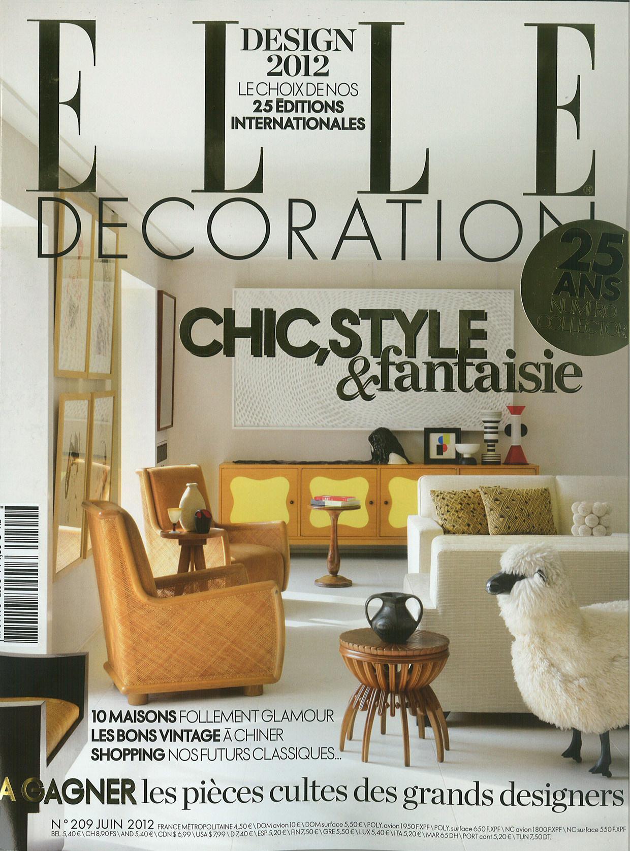 Mon magazine elle decoration je ne m 39 en lasse pas for Elle deco abonnement