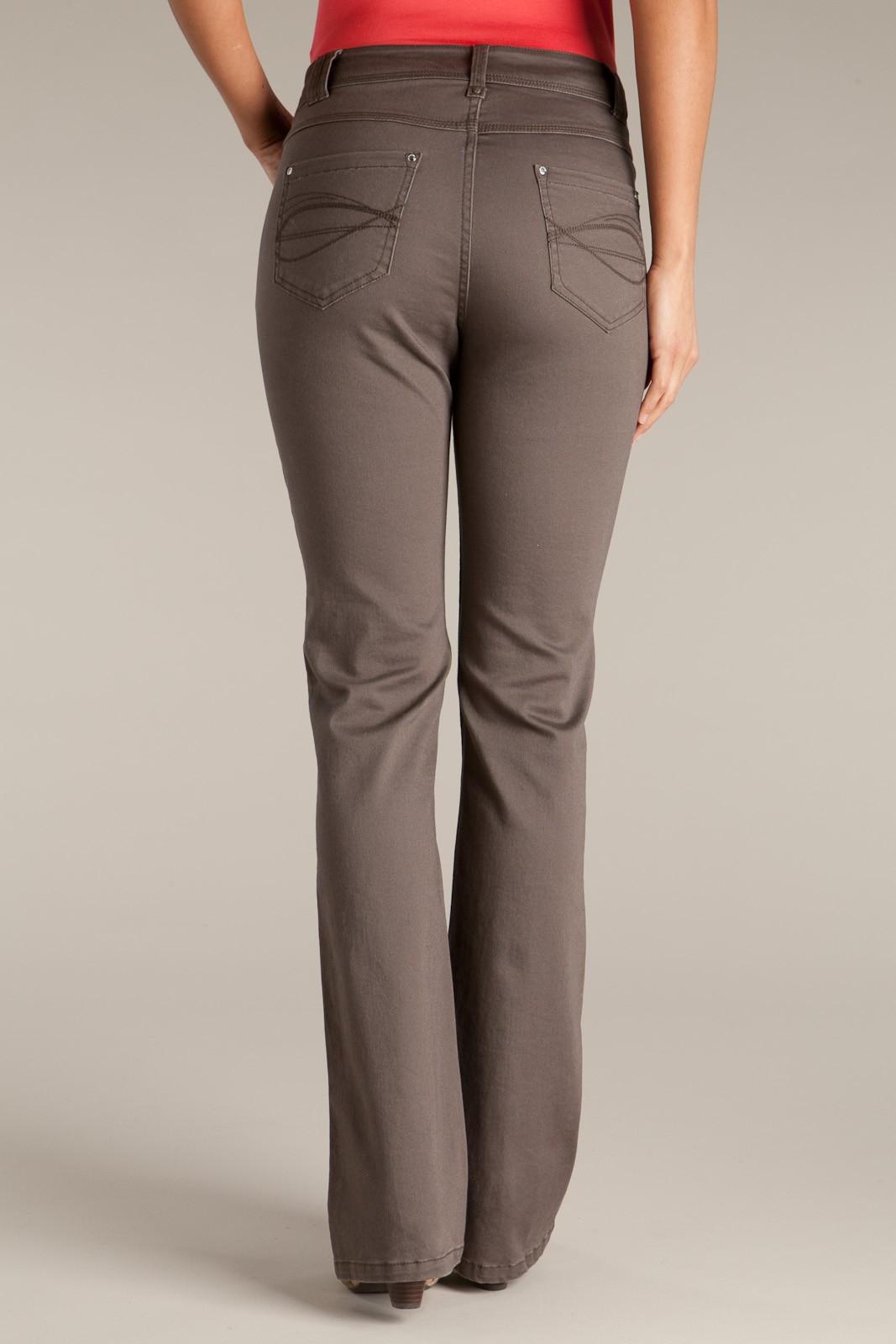 Pantalon coupe droite - Pantalon femme taille haute coupe droite ...