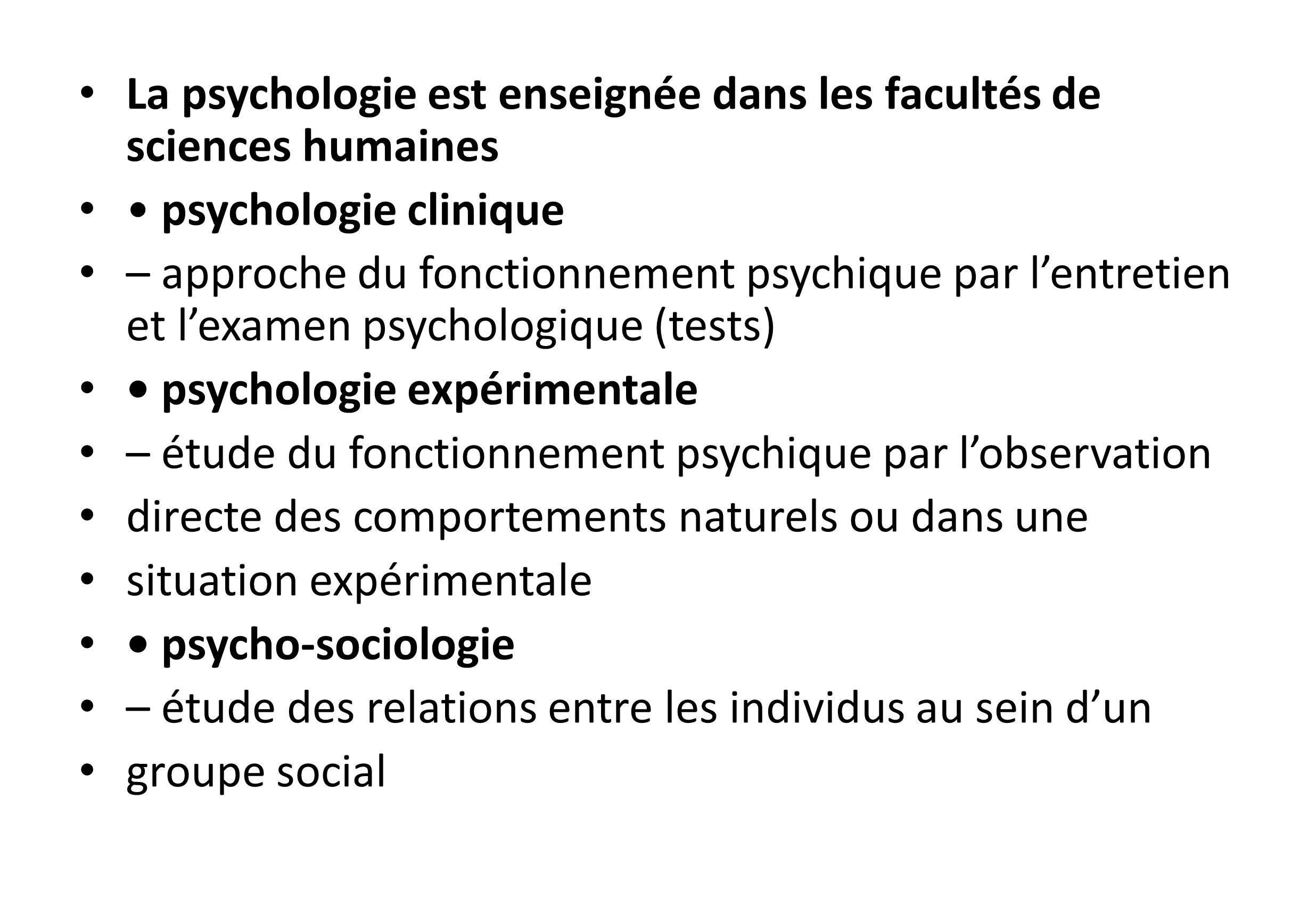 Formation en psychologie, je reprends mes études