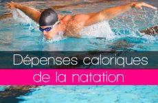calories brulées natation