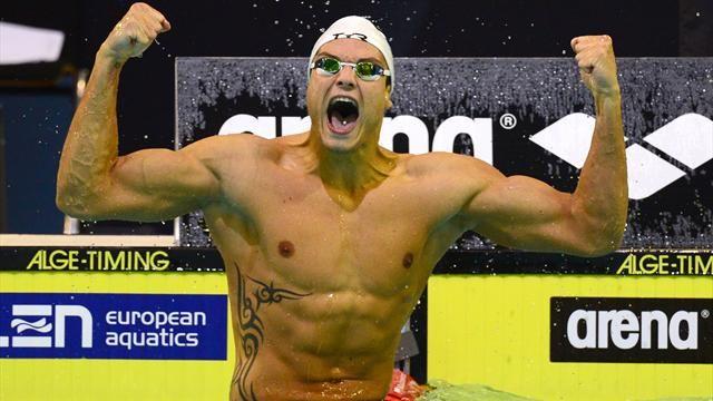 champion du monde de natation