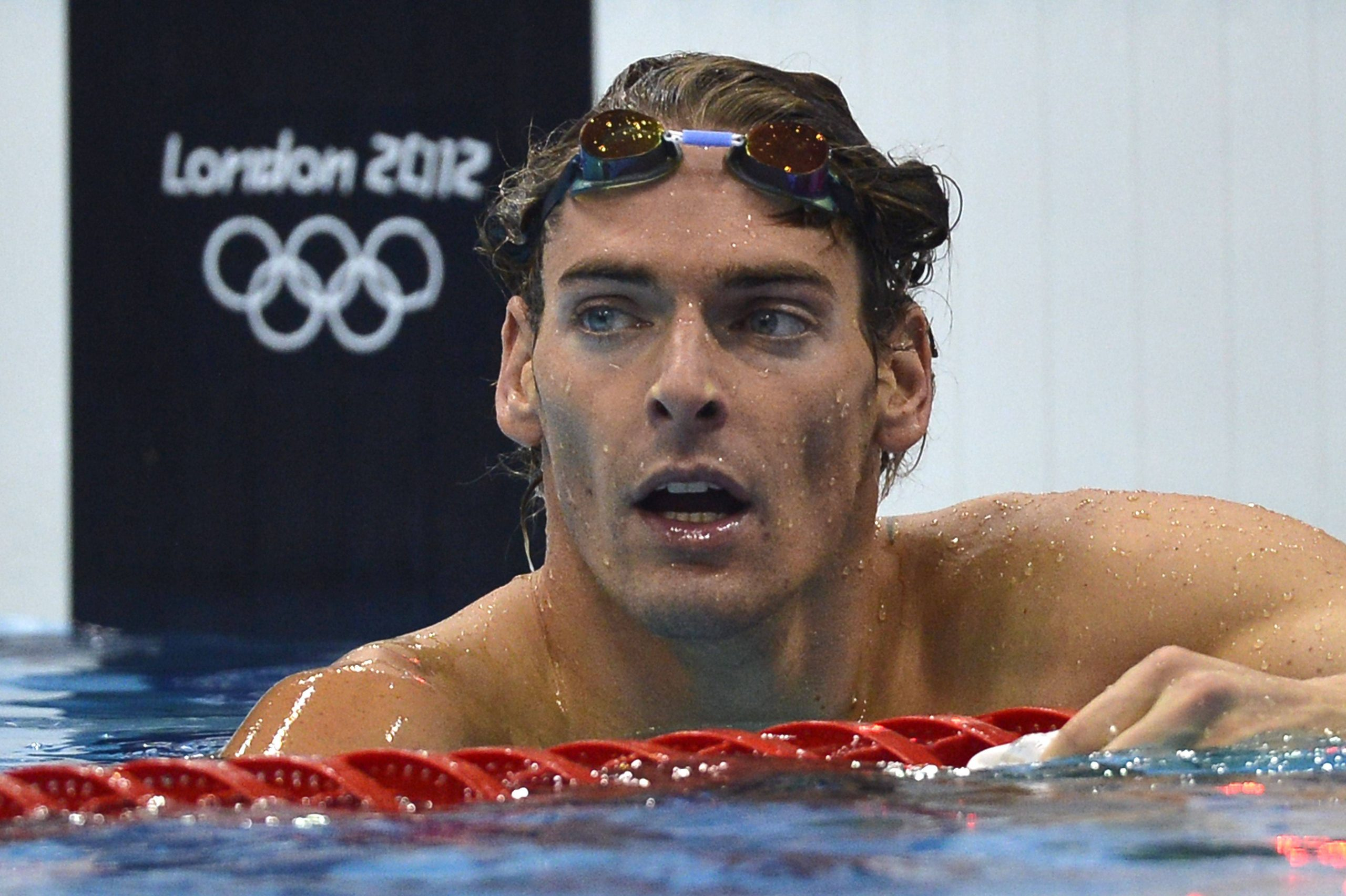 champion olympique natation