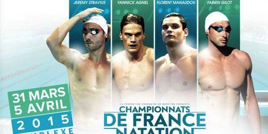 championnat france natation
