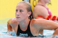 championne natation