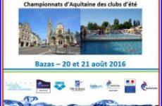 comité aquitaine natation