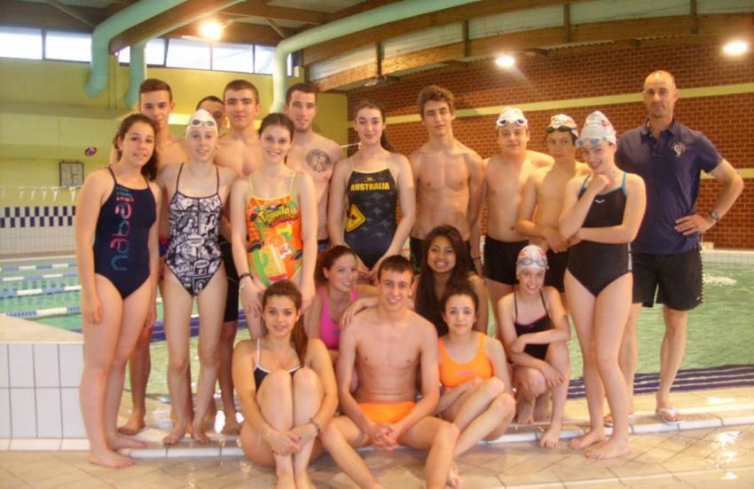 cours natation paris