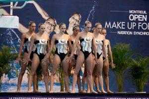 equipe de france natation synchronisée