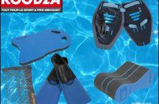 matériel de natation