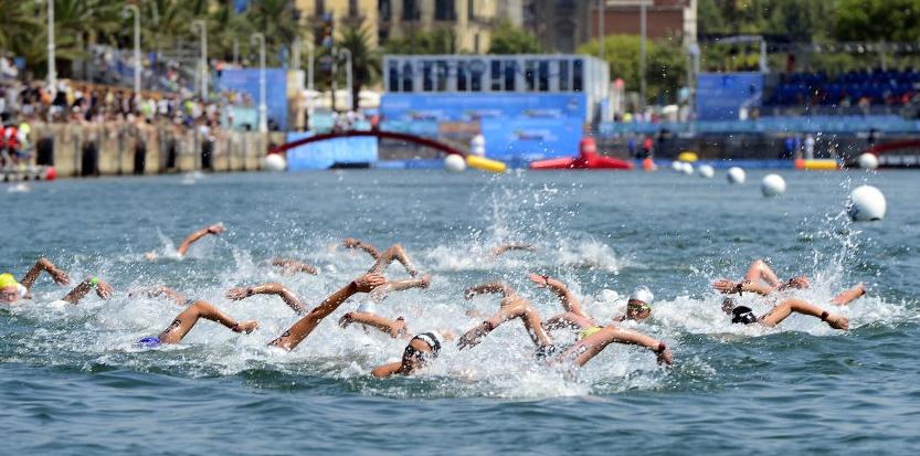 natation en eau libre