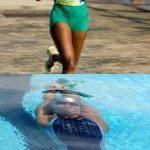 natation et perte de poids