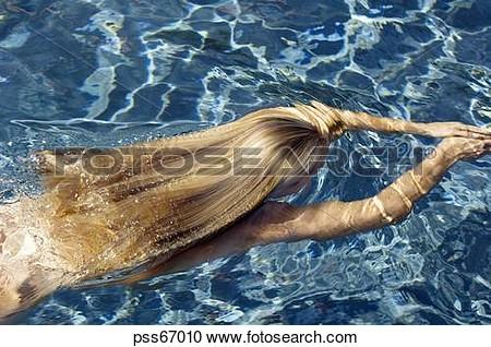 natation nue