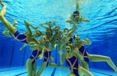 natation synchronisée angers