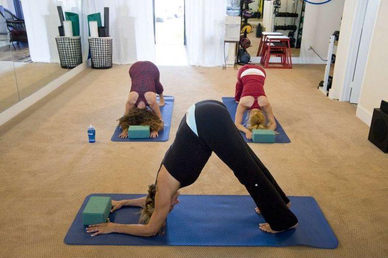 Tapis de yoga de matière naturelle et bio