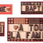 Chocolat personnalisable